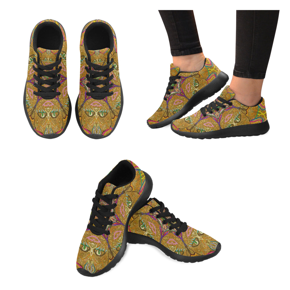 Thleudron Mud Women's Running Shoes/Large Size (Model 020)
