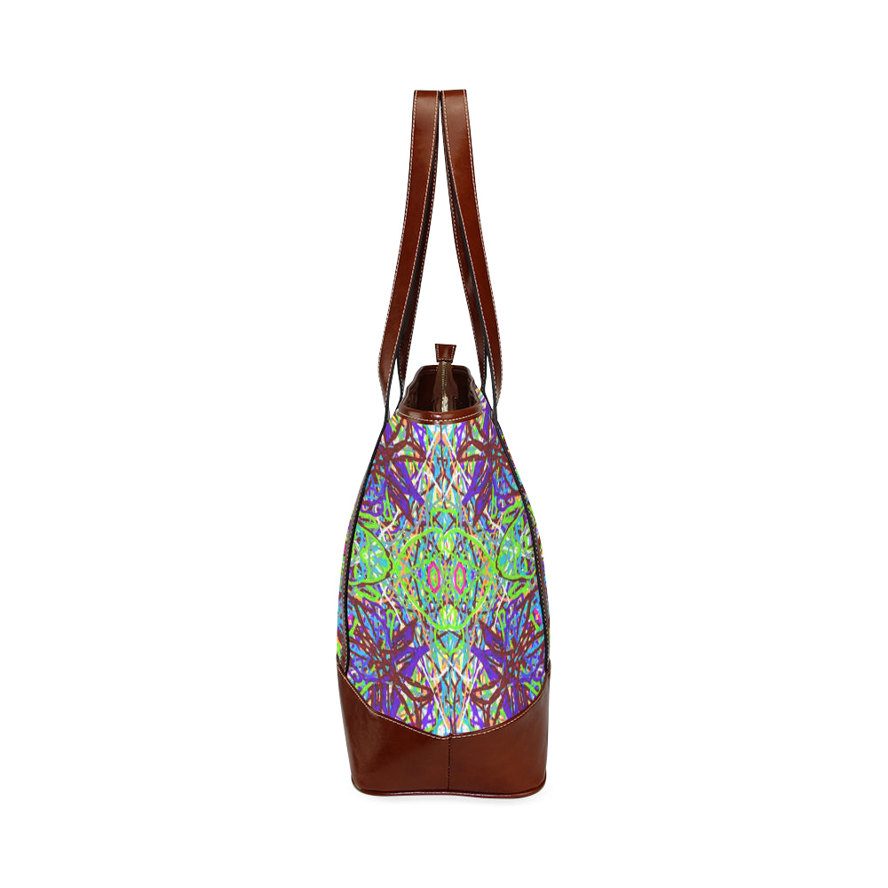 "Sacred Geometry ""Amazon"" by MAR from Thleudron Tote Handbag (Model 1642) - Thleudron"