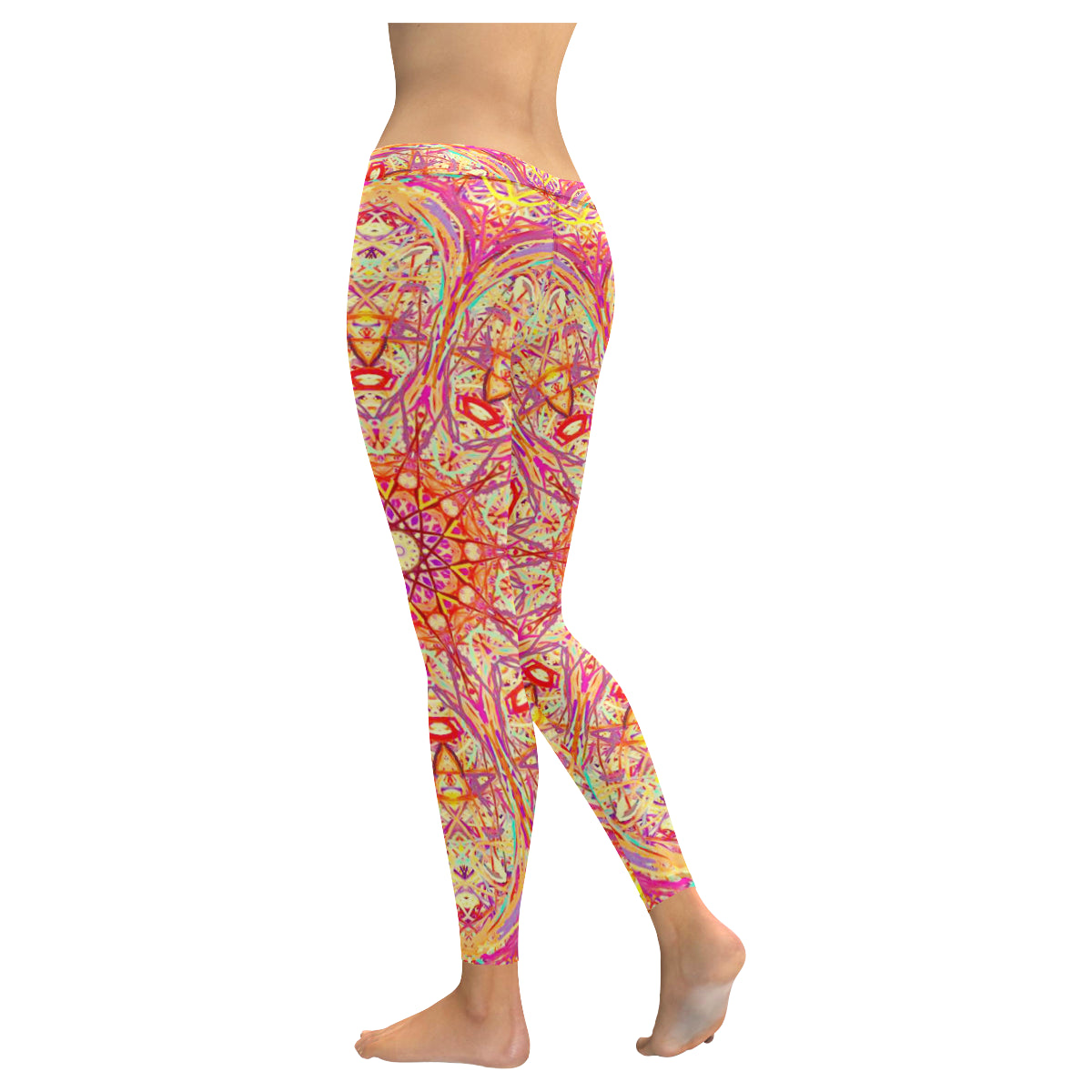 Thleudron Criolla New Low Rise Leggings (Flatlock Stitch