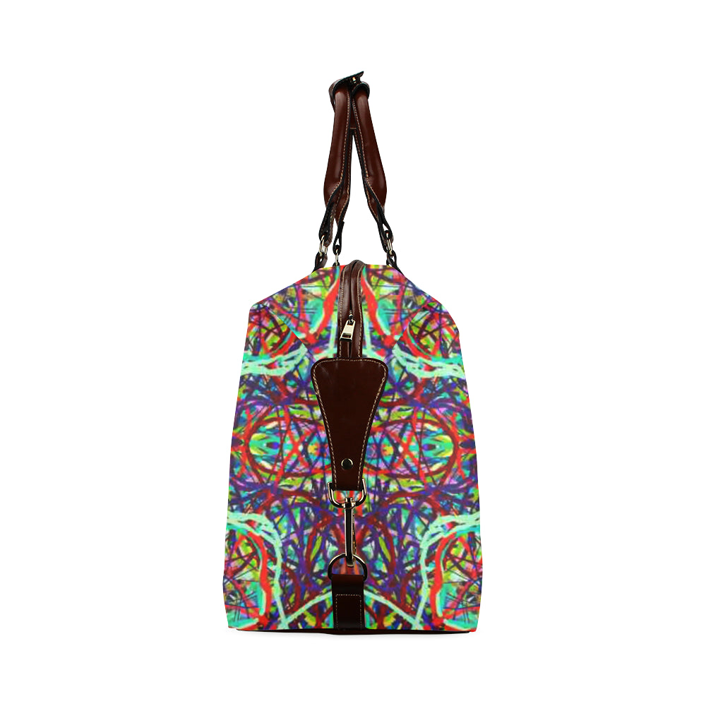 Thleudron Women's Turtles Classic Travel Bag (Model 1643) Remake - Thleudron