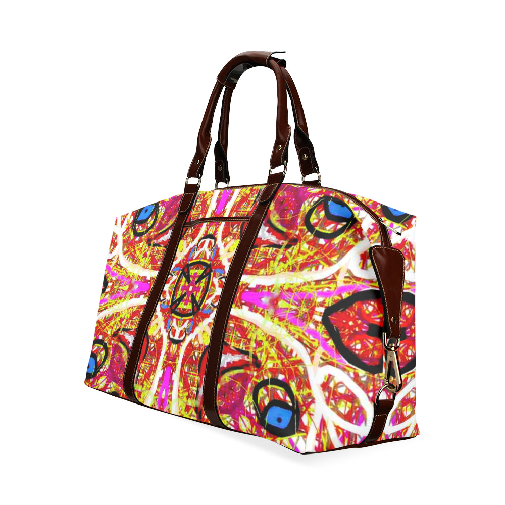 Thleudron Women's New York Classic Travel Bag (Model 1643) Remake - Thleudron