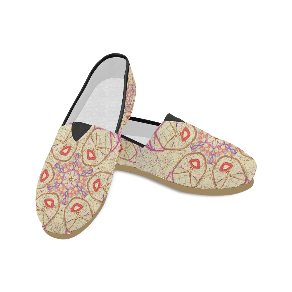 Thleudron Women's Hong Kongers Women's Casual Shoes (Model 004) - Thleudron