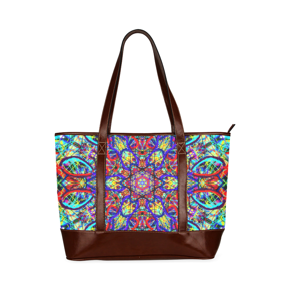 Thleudron Women's Visha Tote Handbag (Model 1642)