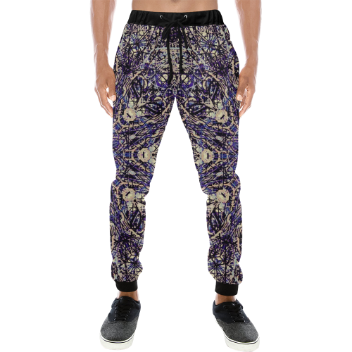Thleudron Memory Men's All Over Print Sweatpants (Model L11)