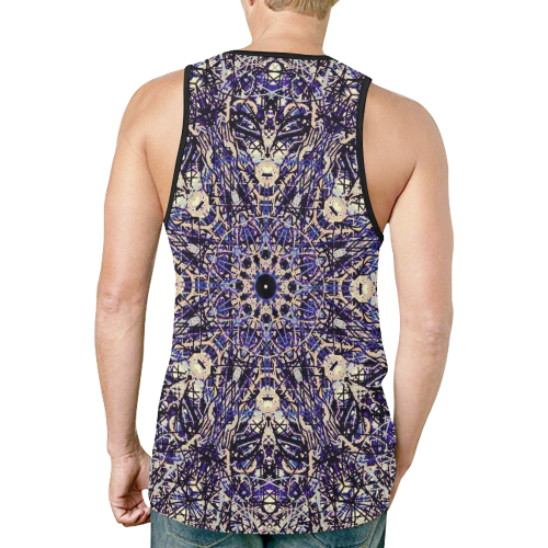 Thleudron Memory New All Over Print Tank Top for Men (Model T46) - Thleudron