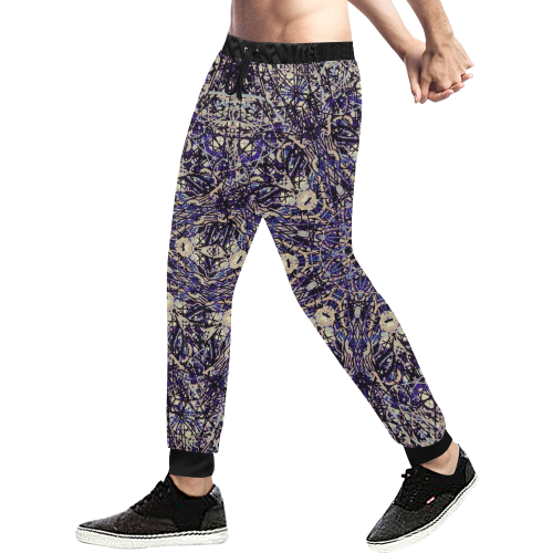 Thleudron Memory Men's All Over Print Sweatpants (Model L11) - Thleudron