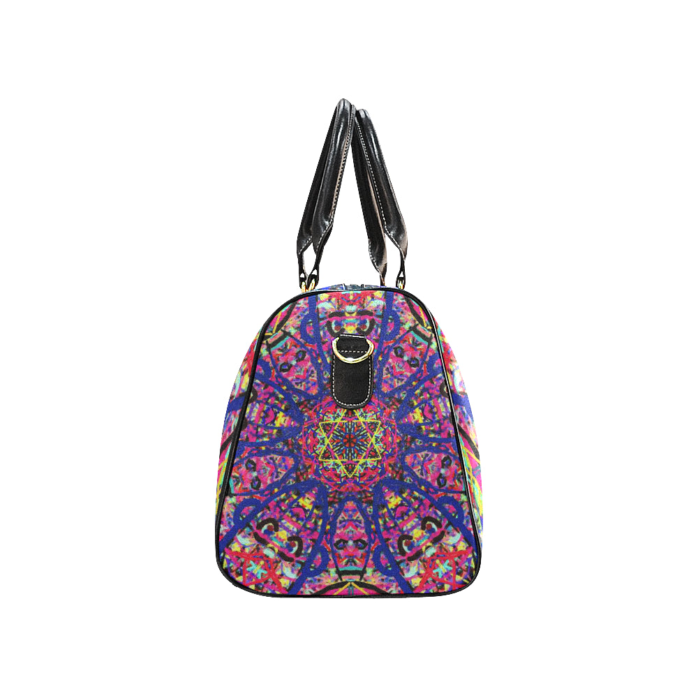 Thleudron Women's David New Waterproof Travel Bag/Small (Model 1639) - Thleudron