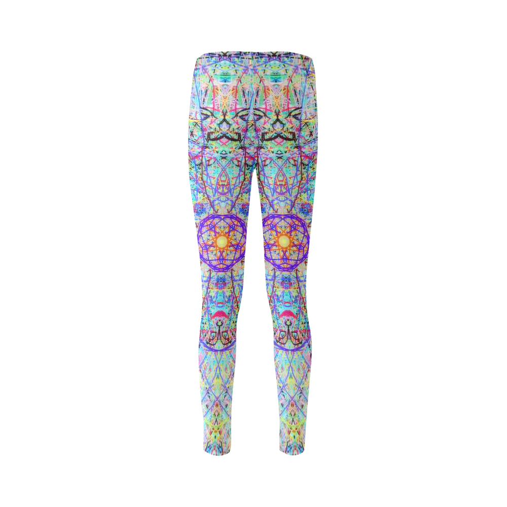 Thleudron Elfs Cassandra Women's Leggings (Model L01) - Thleudron