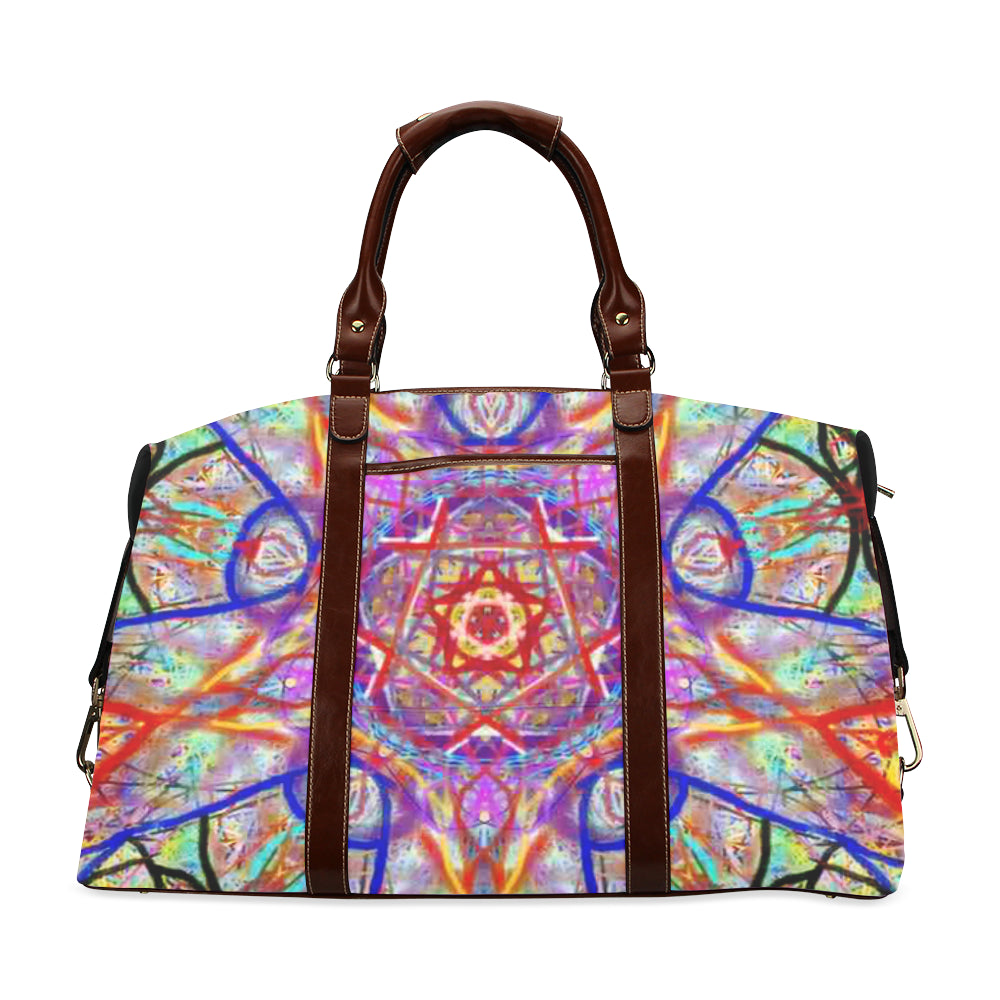 Thleudron Women's Whimsical Classic Travel Bag (Model 1643) Remake - Thleudron