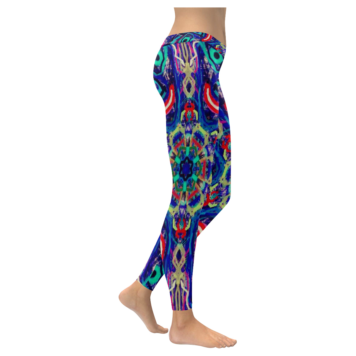 Thleudron Rancher New Low Rise Leggings (Flatlock Stitch) (Model L07) - Thleudron