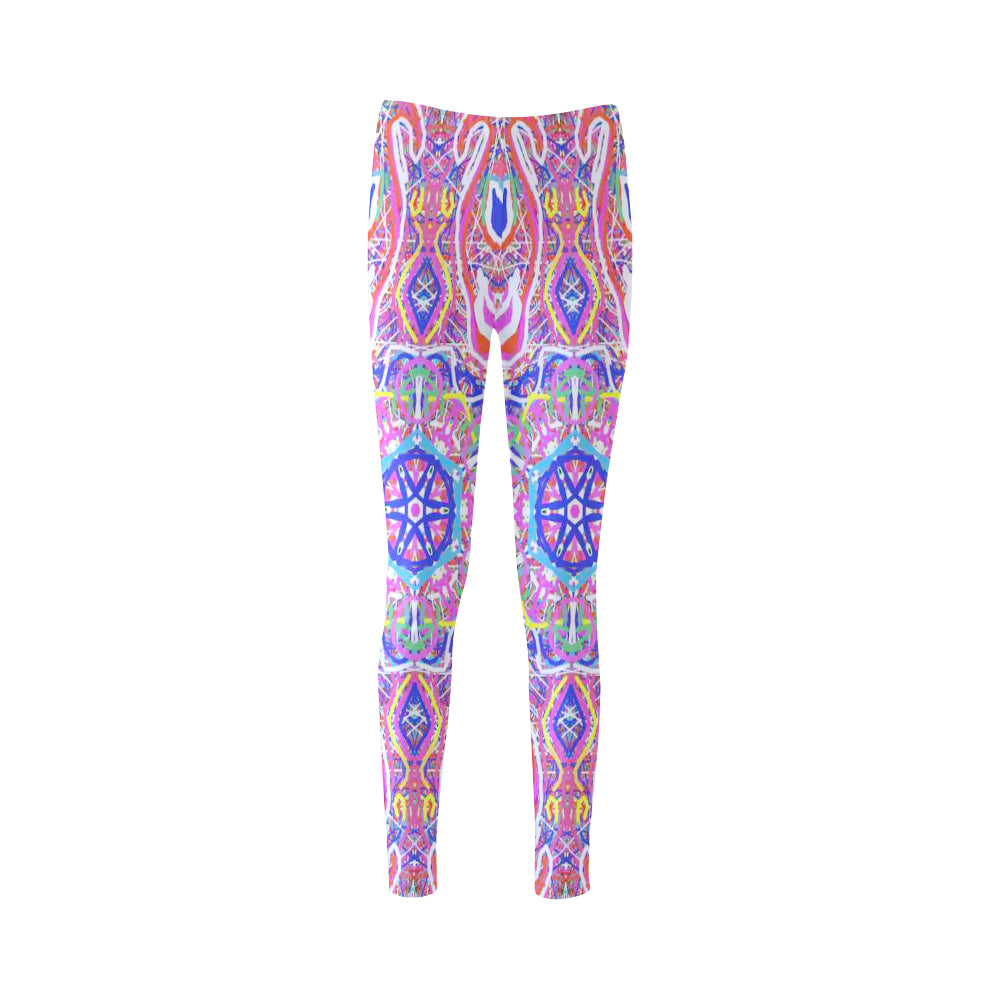 Thleudron Women's Venice Cassandra Women's Leggings (Model L01)