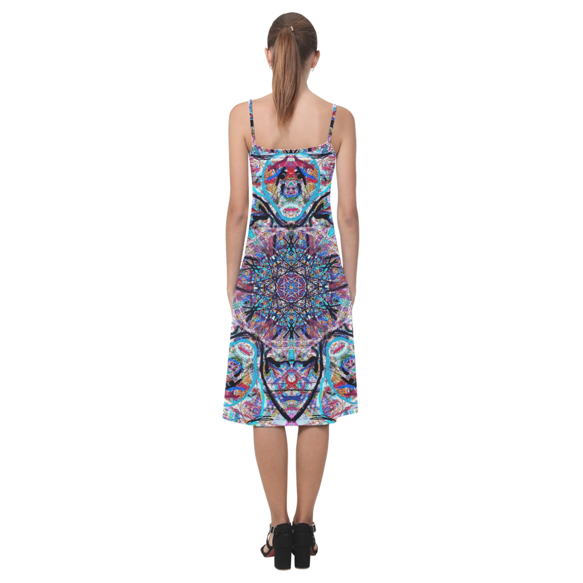 Thleudron Women's Dream Catcher by MAR from Thleudron Alcestis Slip Dress (Model D05) - Thleudron