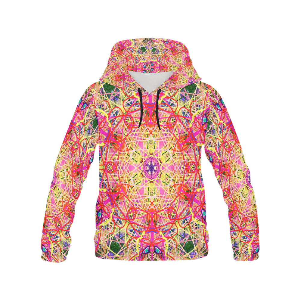 Thleudron Women's Roulette All Over Print Hoodie for Women (USA Size) (Model H13)