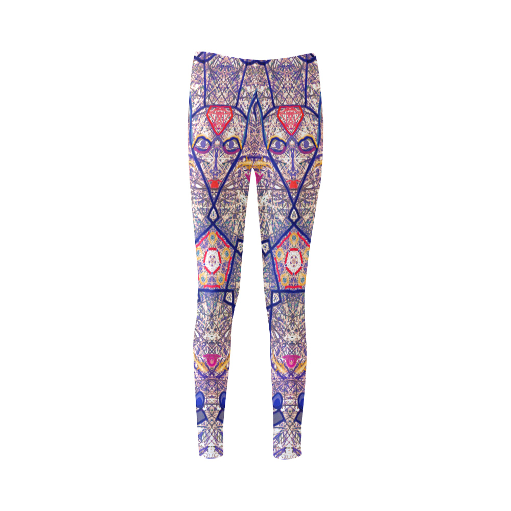 Thleudron Women's Lovers Cassandra Women's Leggings (Model L01) - Thleudron
