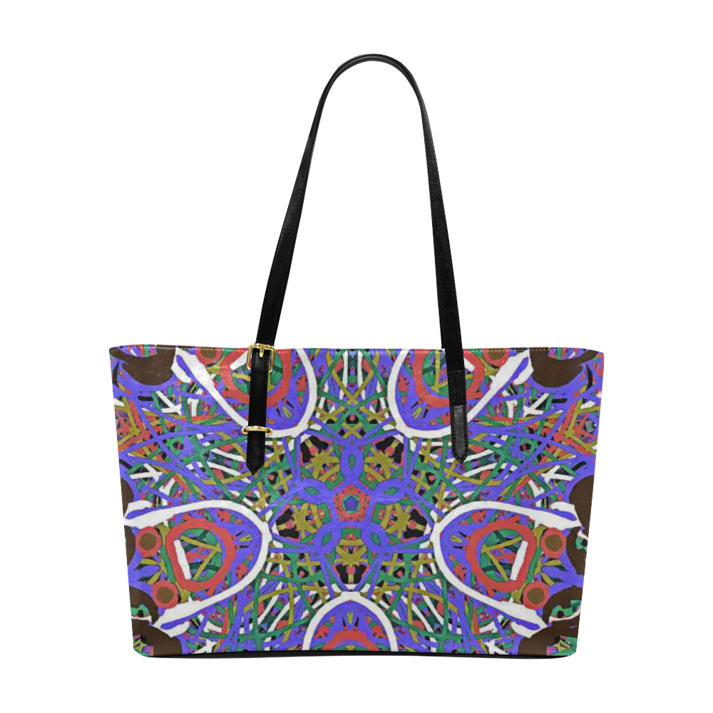 Thleudron Women's Happy Euramerican Tote Bag/Large (Model 1656)