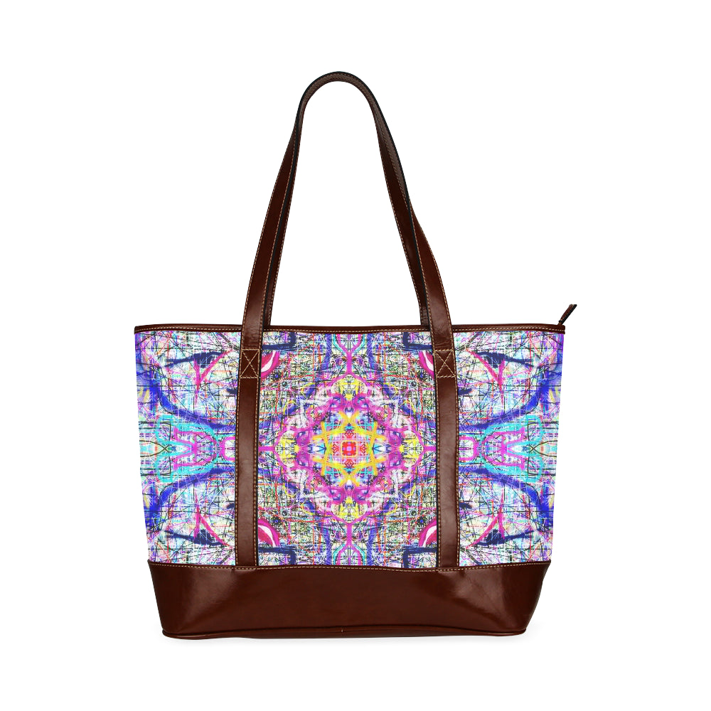 Thleudron Women's The Emperor Tote Handbag (Model 1642)