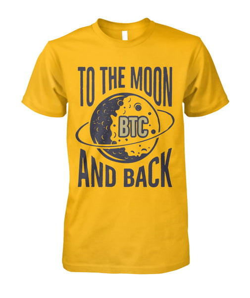 Bitcoin To the moon T Shirt Crypto