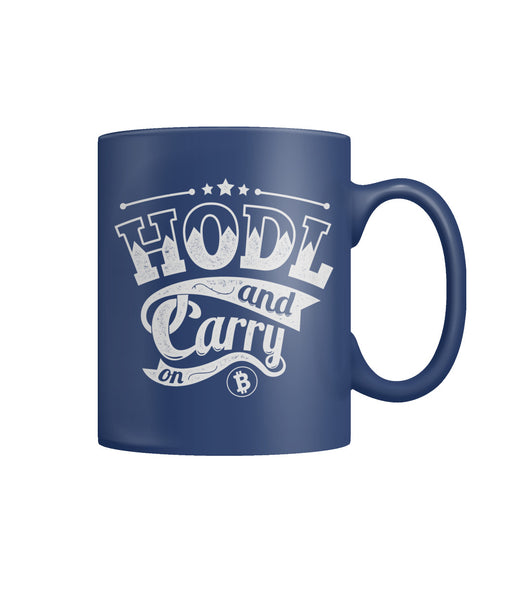 HODL Bitcoin Coffee Mug