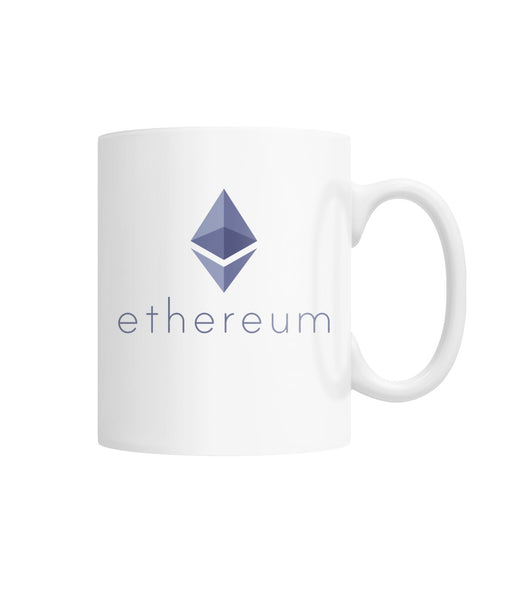 Ethereum Mug  White Coffee Mug