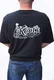 Mens Black 2 Sided New Logo Print T-Shirt