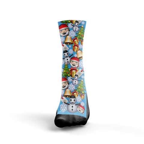 Christmas Emoji - Seth's Socks | Custom Designed Socks
