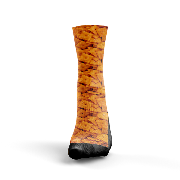 Cheez-It Cracker Socks - Custom Designed Socks - Seth's Socks