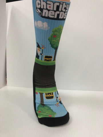 Charity Nerds Gaming socks - Seth's Socks