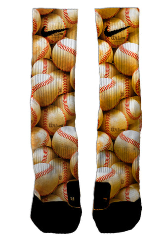 Custom Baseball NIKE ELITE Socks - Seth's Socks