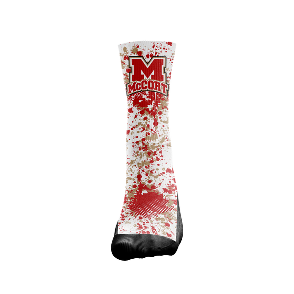 Bishop McCort Crusher Socks - Custom Designed Socks - Seth's Socks