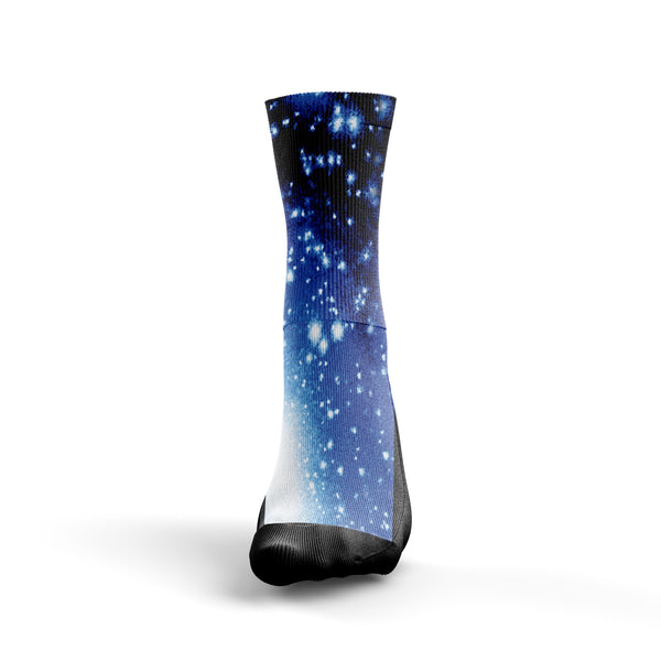 Blue Galaxy Socks - Custom Designed Socks - Seth's Socks
