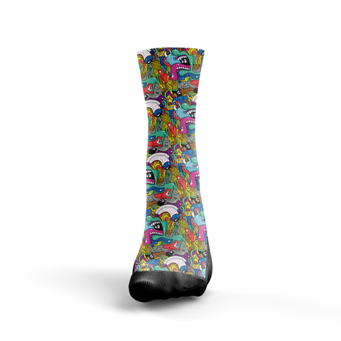 Cartoon - Seth's Socks | Custom Designed Socks