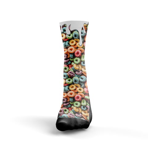 Custom Fruit Loops Socks - Seth's Socks