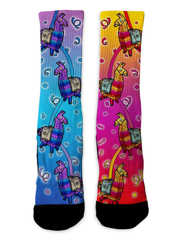 Custom Llama Fortnite Socks - Seth's Socks