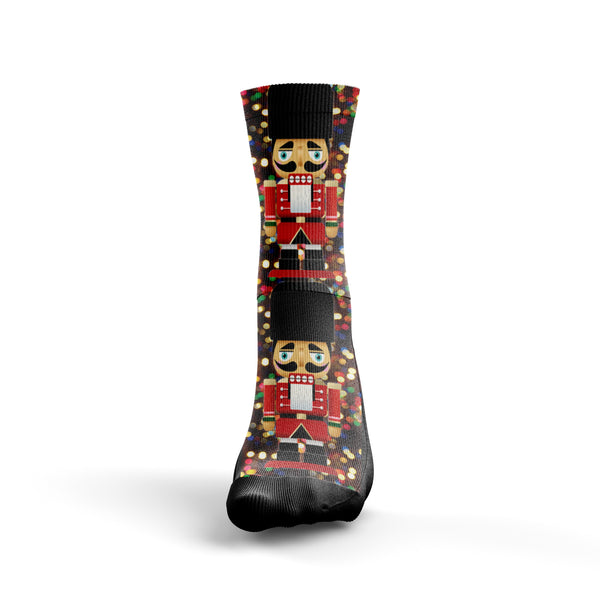 Christmas Nutcracker Socks - Custom Designed Socks - Seth's Socks