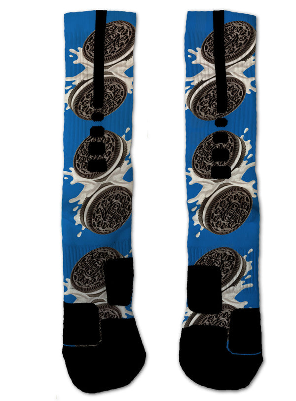 Oreo NIKE ELITE Socks - Custom Designed Socks - Seth's Socks