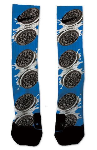0e34d61b0 Oreo NIKE ELITE - Seth's Socks | Custom Designed Socks