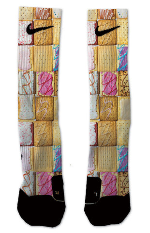Nike Elite Pop Tarts NIKE ELITE - Seth's Socks | Custom Designed Socks