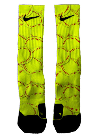 Nike Elite Softball NIKE ELITE - Seth's Socks | Custom Designed Socks
