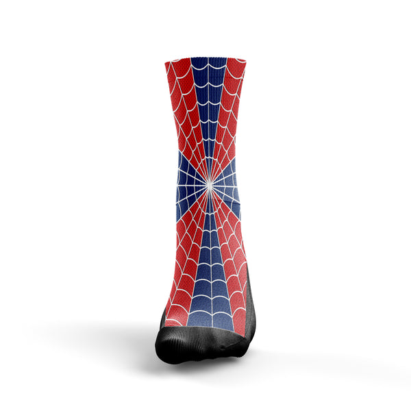 Spiderman Socks - Custom Designed Socks - Seth's Socks