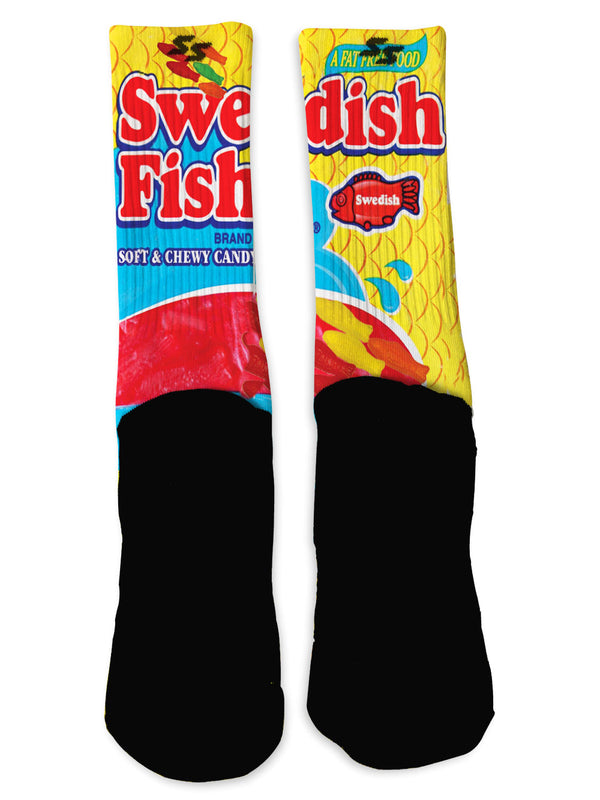 Swedish Fish Socks - Custom Designed Socks - Seth's Socks