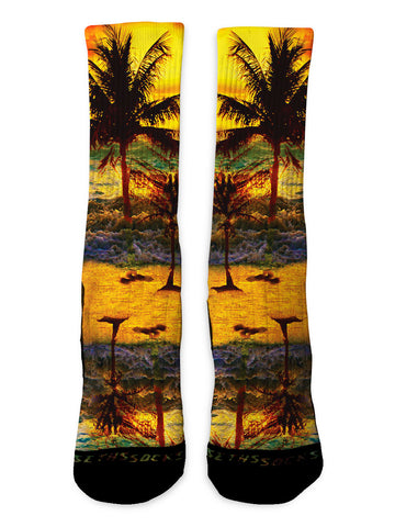 Tropical Sunset - Seth's Socks | Custom Designed Socks