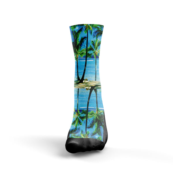 Tropical Ocean Socks - Custom Designed Socks - Seth's Socks