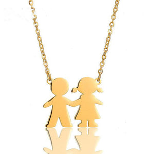 Cute Couples Necklace