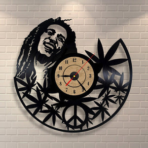PEACE&LOVE WALL ART CLOCK
