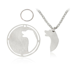 Necklace and Dog tag duo