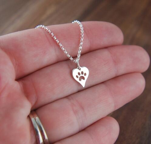 Cute Dog Paw Necklace