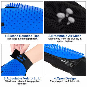 Pet Deshedding Brush Glove [FREE Shipping Worldwide Today]
