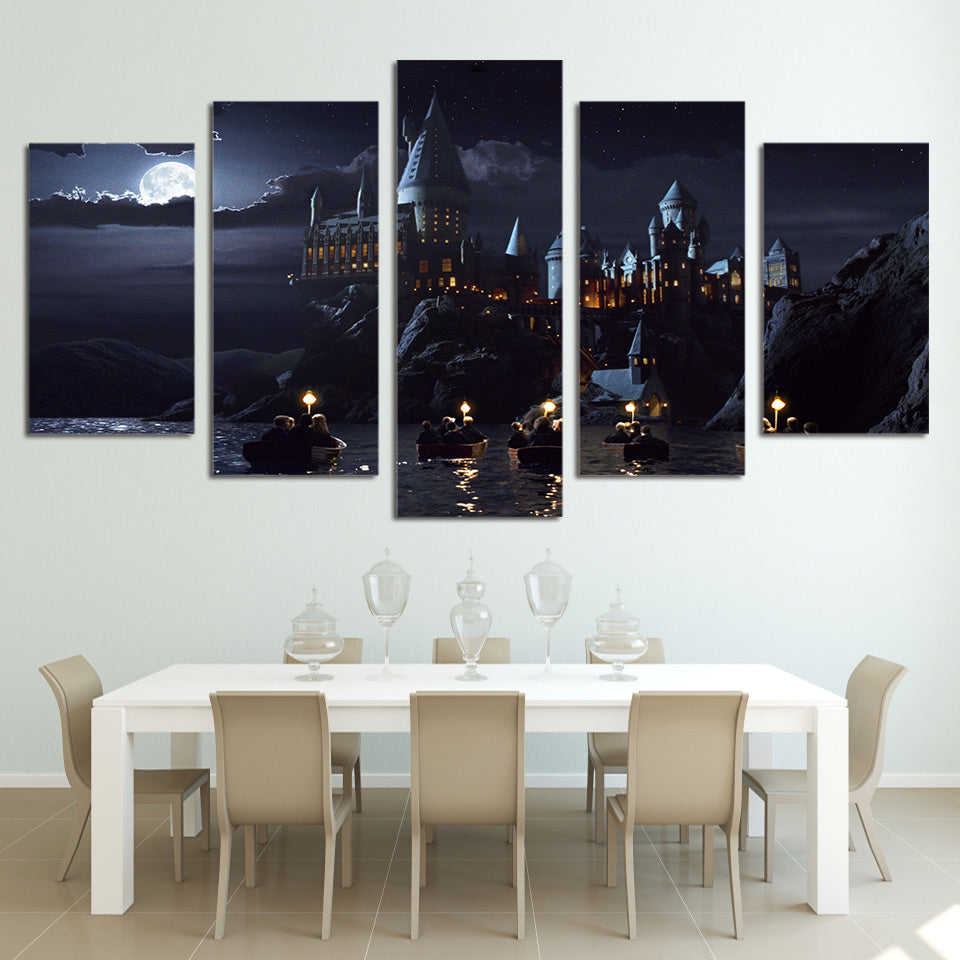 HOGWARTS SCHOOL OF WITCHCRAFT AND WIZARDRY - HARRY POTTER CANVAS WALL ART