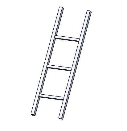Ladder, Square Bars