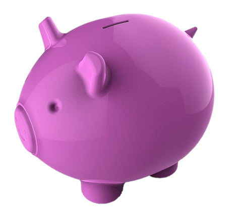 Piggy Bank, 3D Printable